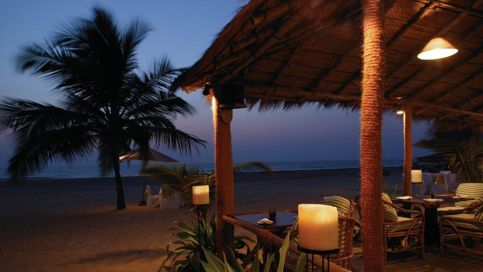 Dining Night at Private Beach