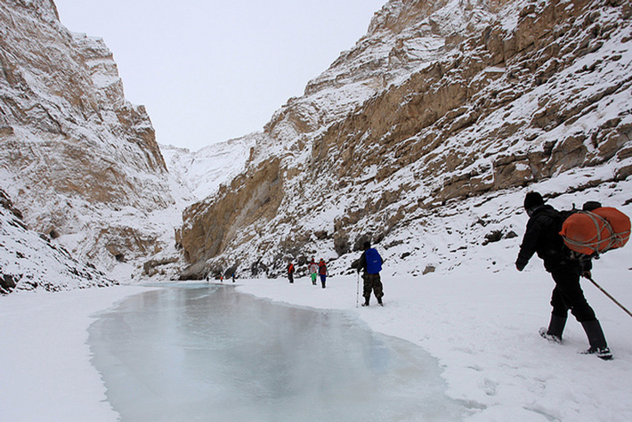 Zanskar Frozen River Trek