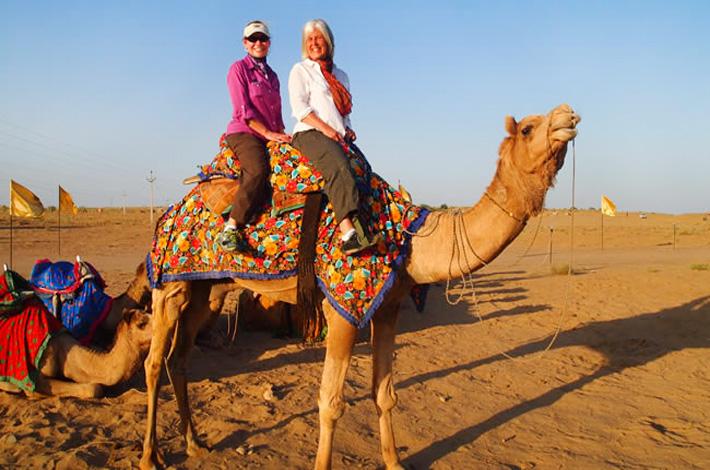 Camel Ride in Rajasthan